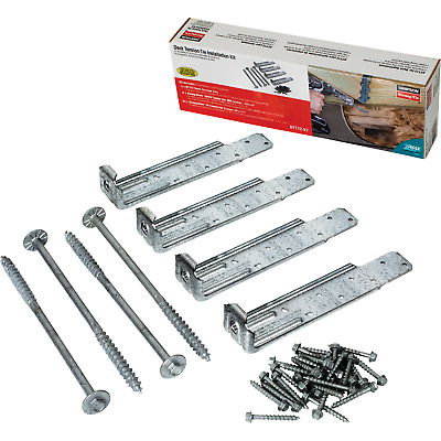 Deck Tension Tie Kit With Fasteners