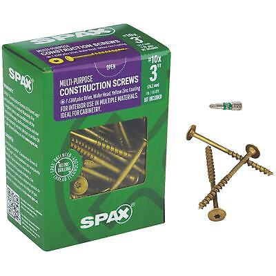 Spax Interior Washer Head Multi-Material Construction Screw