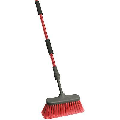 Libman Flow-Thru Wash Brush With Telescoping Handle
