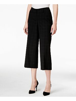 STYLE & CO Womens New 1403 Black Pinstripe Casual Pants 6 B+B