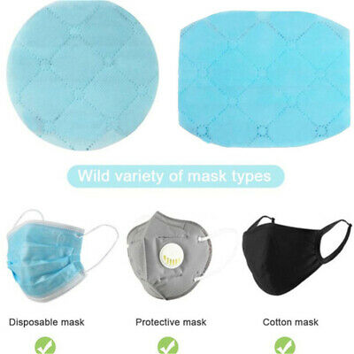 5/10 Dust Proof Breathable Disposable Replace Inner Pad Filter for Mouth Mas u