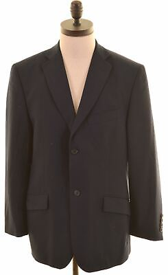 TED BAKER Mens 2 Button Blazer Jacket Size 40 Large Navy Wool Endurance IC06