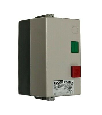 Lewden TECO HUFB-11M Direct On Line Magnetic Starter 400V (No O/L)