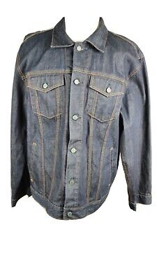Gap nwot  Mens size  XXL dark denim  Trucker Jean Jacket C5