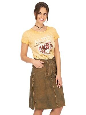 Maddox Leather Skirt Kaisersee Central Antikbuche