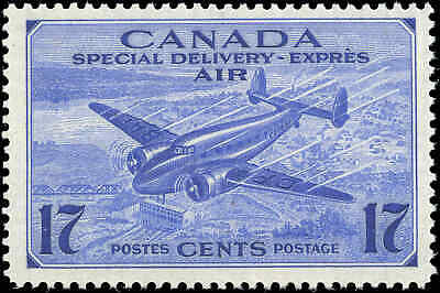Canada Mint F+ Scott #CE2 1943 17c Air Mail Special Delivery Never Hinged