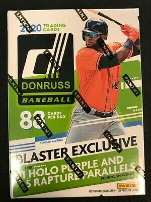 2020 Donruss Baseball EXCLUSIVE Factory Sealed Blaster 88 cards NEW