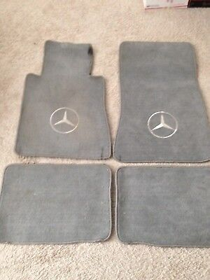 Custom Used Floor mats Fits Mercedes 126 Coupe 560 SEC 1986 Complete set