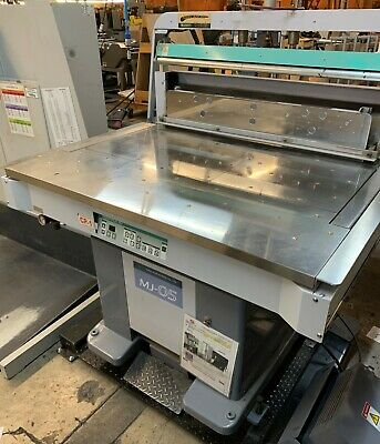 2012 Kudo MJ-05 1000 32X44 Jogger scale with air removal ALI#104886