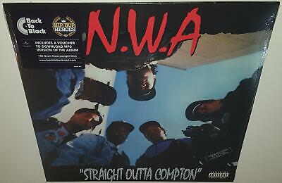 Nwa Straight Outta Compton (2013) New Sealed Vinyl Lp Dr Dre Eazy-E Ice Cube
