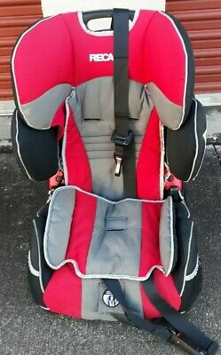 Recaro Performance Sport Combination Child Car Seat Harness To Booster Red Black