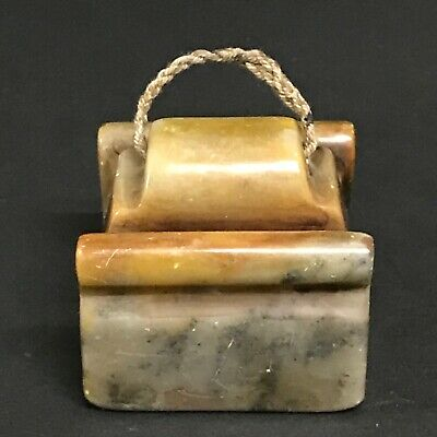 Chinese Art Carved Soapstone Seal /Stamp