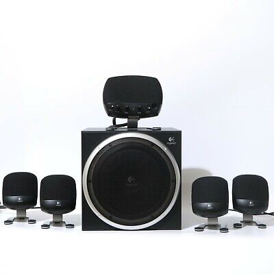 Logitech Z-640 Surround Sound System 5.1-Used In VGC