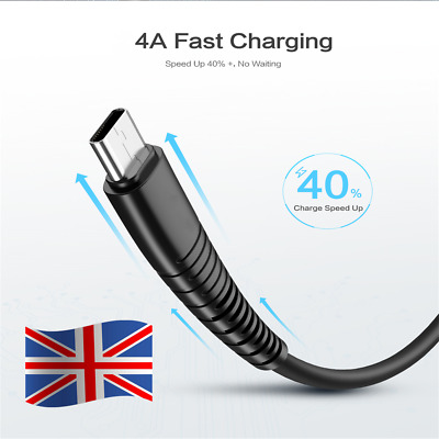 UK USB Cable For iPhone 4A Fast Charging USB Charger Data Cable USB Charge Cord