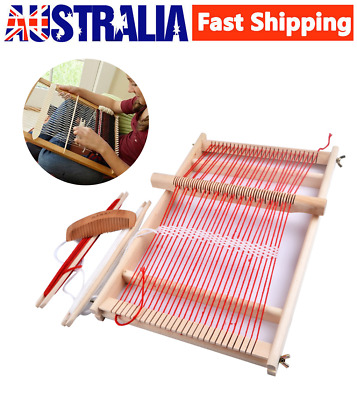 Elm Looms Wooden Tapestry Hand-Knitted Machine DIY Woven Set Weaving Loom Kit