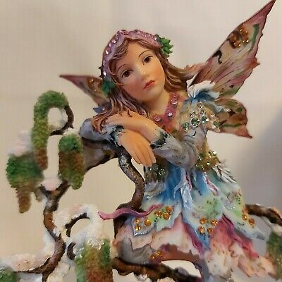 As New HTF Christine Haworth Faerie Poppets Ltd 1st Edition EARLY CATKIN FAERIE