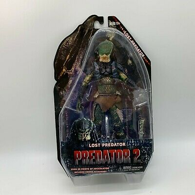 Lost Predator Action Figure Predator 2 Doll Alien Hunter PVC Toy 8""