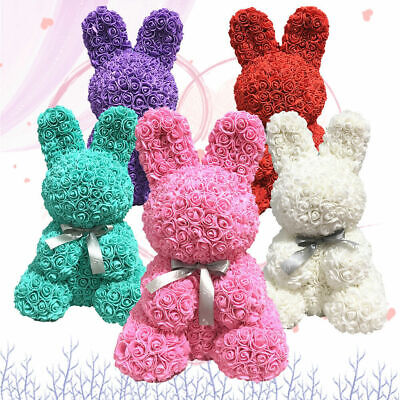 2020 Rose Flower Bear Toys Teddy Birthday Valentine Wedding Anniversary Gift UK