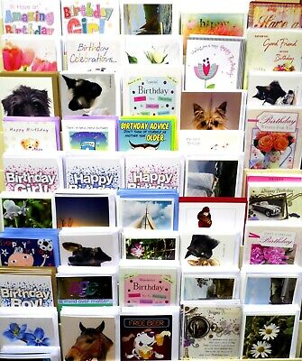 50 Card Bundle Just £15.99 Free Post,, Superb Quality General / Birthday,