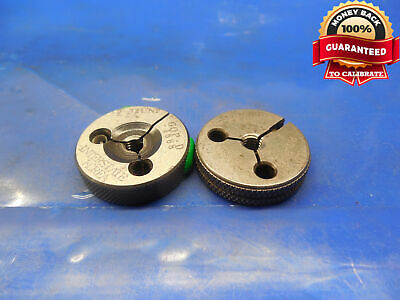 10 32 UNF 2A THREAD RING GAGES GO NO GO P.D = .1688 /& .1658