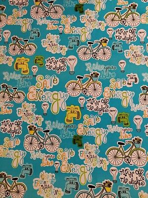 Save Energy Cotton PUL fabric By The Half Yard, diapers, nappys, bibs, puppy pad