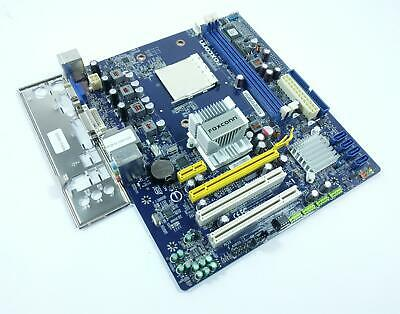 1PC Foxconn M61PMV supports AM2 AM3 DDR2 motherboard
