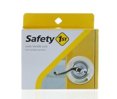 Safety 1st French Door Lever Handle Baby Proof Child Lock One Hand Used