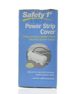 Safety 1st Power Strip Cover Baby Proofing Wall Or Floor Mount Expands