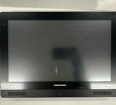 "Crestron TPMC-V15-WALL-B V-Panel™ Integrated 15"" Tilt HD Touch Screen, Black"