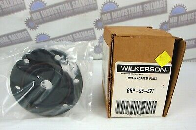 NEW in BOX- WILKERSON - DRAIN ADAPTER PLATE PN# GRP-95-391 - (new in box)