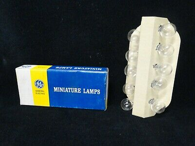 General Electric - Miniature Lamps - (Lot Of 10) - Pn: 15 - 25371 - New In Box