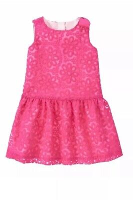NWT Gymboree Egg Hunt Fuschia Floral Bubble Romper Easter Dressy 1PC Baby Girl