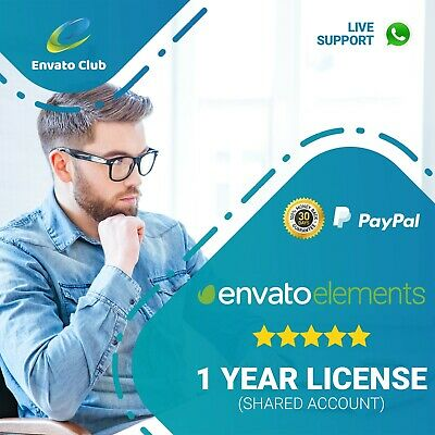 Envato Elements - 1 YEAR LICENSE