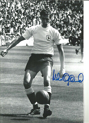 Mike England Tottenham Hotspur signed 12x8 authentic football photograph SS634