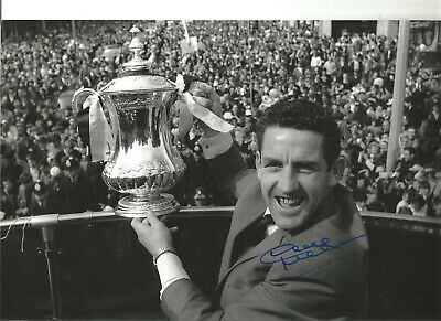 Dave Mackay Tottenham Hotspur signed 10x8 authentic football photograph SS642A