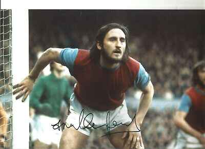 Frank Lampard senior West Ham signed 12x8 authentic football photograph SS676
