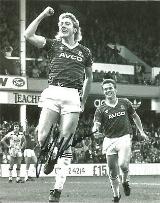 Frank McAvennie West Ham signed 10x8 inch authentic football photograph SS658E