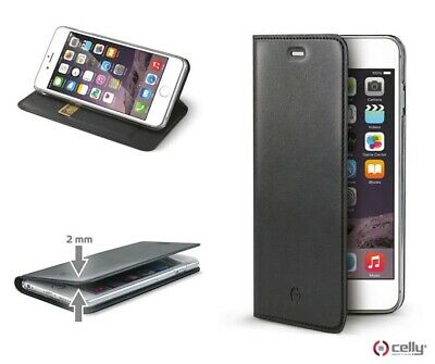 Flip Cover Custodia Libro Book Wallet Celly Apple Iphone 4 Bianco