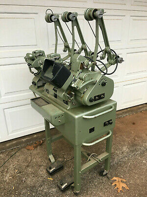 Vintage Moviola Mod. L-20 Film Editor w/ 3 Moviola Film Counters