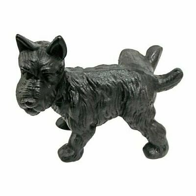 Design Toscano Naughty Peeing Scotty Dog Die-Cast Iron Bookend and Doorstop SP507
