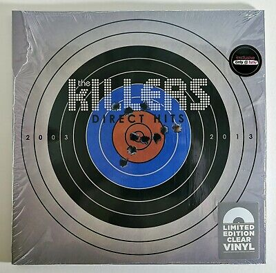 The Killers - Direct Hits - Clear  Vinyl - HMV only