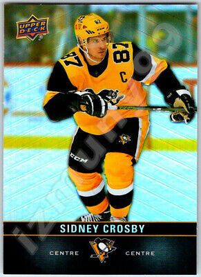 2019-20 UPPER DECK TIM HORTONS SIDNEY CROSBY Hockey Card # 87 Penguins Mint BV