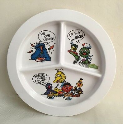 Muppets Divided Baby Plate/Dish