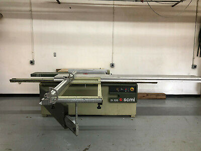 SCMI Sliding Table Panel Saw SI 320