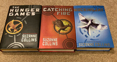 The Complete Hunger Games Trilogy by Suzanne Collins Hardcover All First Edition