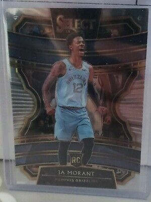 2019-20 Select Concourse #72 Ja Morant - Memphis Grizzlies Rookie Card