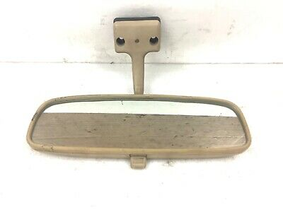 82-83 Accord 4Dr Interior Rear View Mirror Inside Reflective Glass Beige OEM