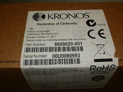 Kronos 8609020-001 Biometric (In Touch) Touch ID ModuIe for InTouch 9000