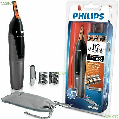 Philips Series 3000 Mens Trim Nose Ear And Eyebrows Trimmer Kit New Uk