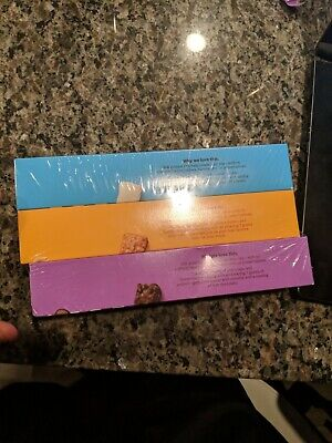 WW Weight Watchers 3 Pack of 6 Protein Stix Chocolate, Peanut Butter, Cookies